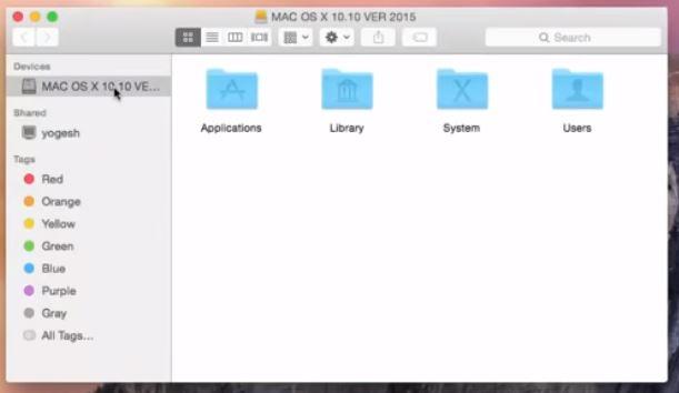 Open the MacBook Finder