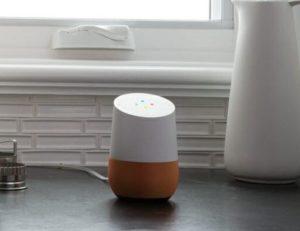 Google Home Smart Speaker Position
