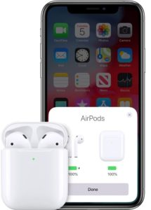 Setting Airpods with iPhone