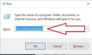 Windows 10 Run Tab