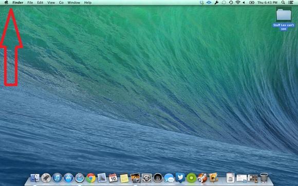 Apple MAC Home screen Icon